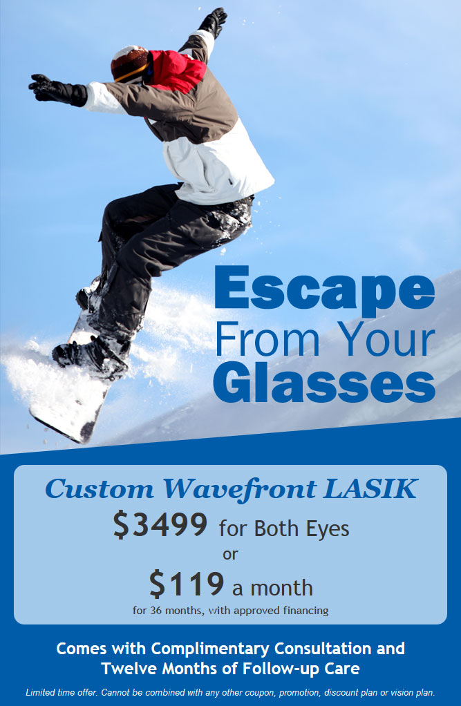 LASIK Eye Surgery Discount Offer