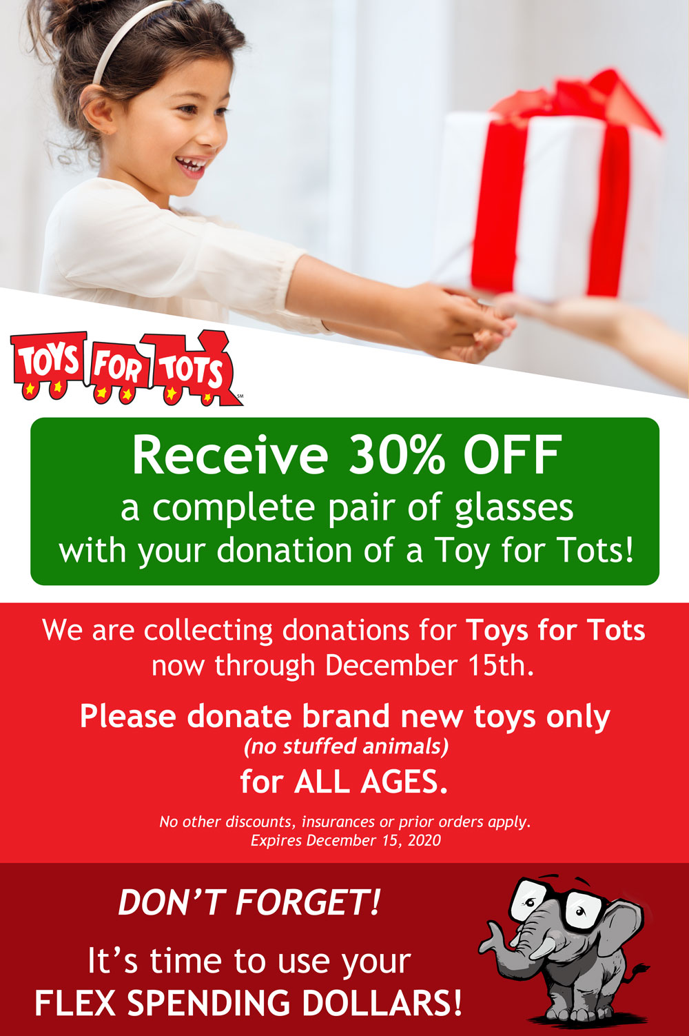 Toys For Tots Offer